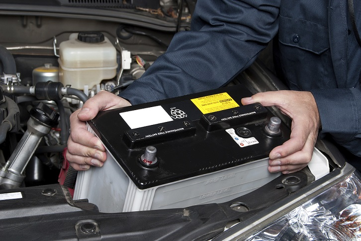 Battery Test and Replacement in Rockford, IL