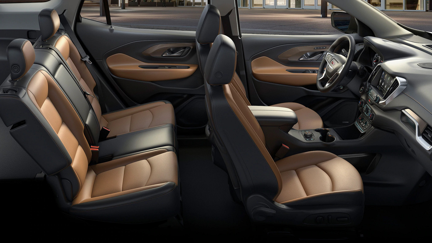 Accommodating Interior of the 2020 Terrain