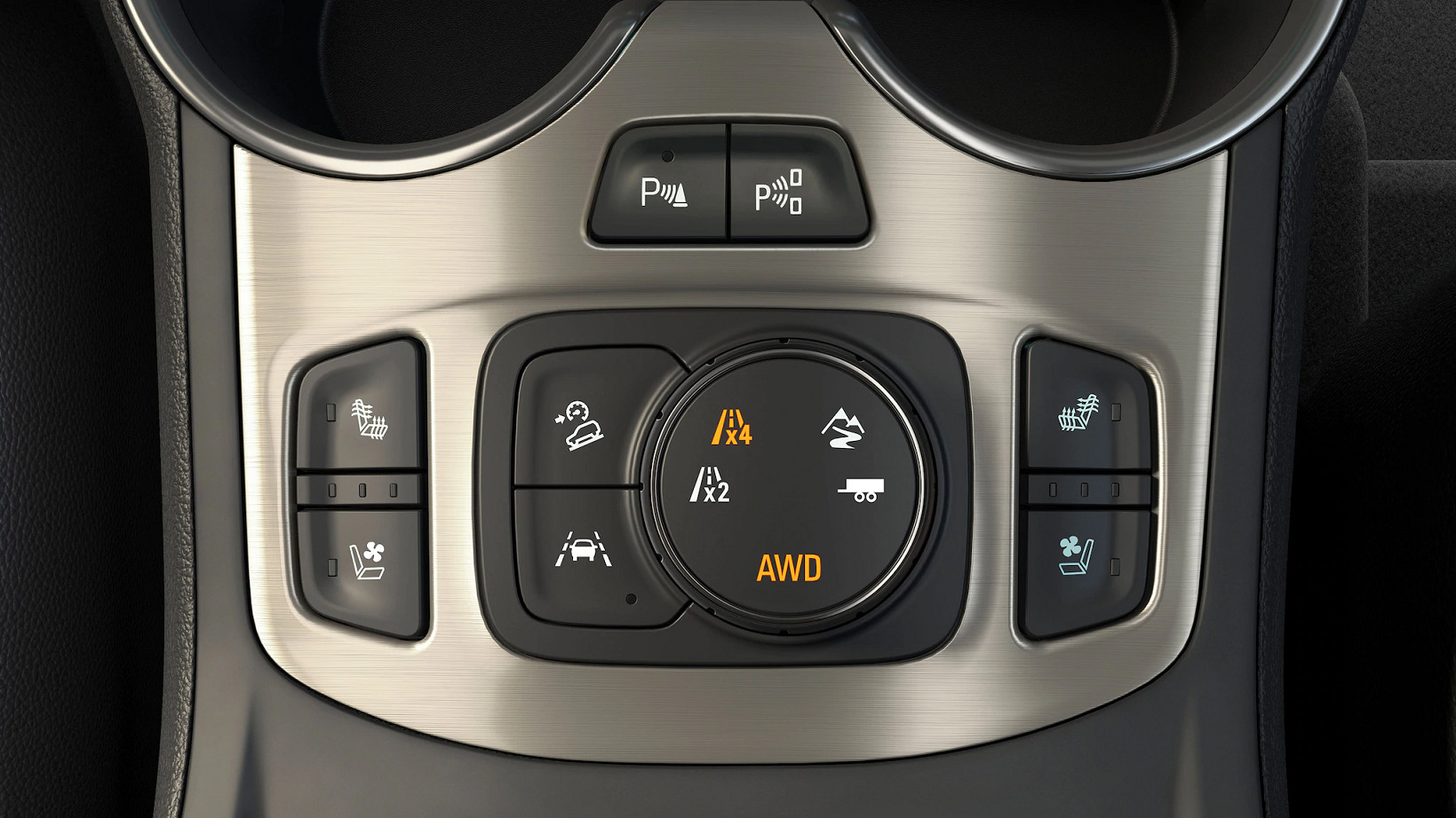 Driving Controls in the 2020 GMC Terrain