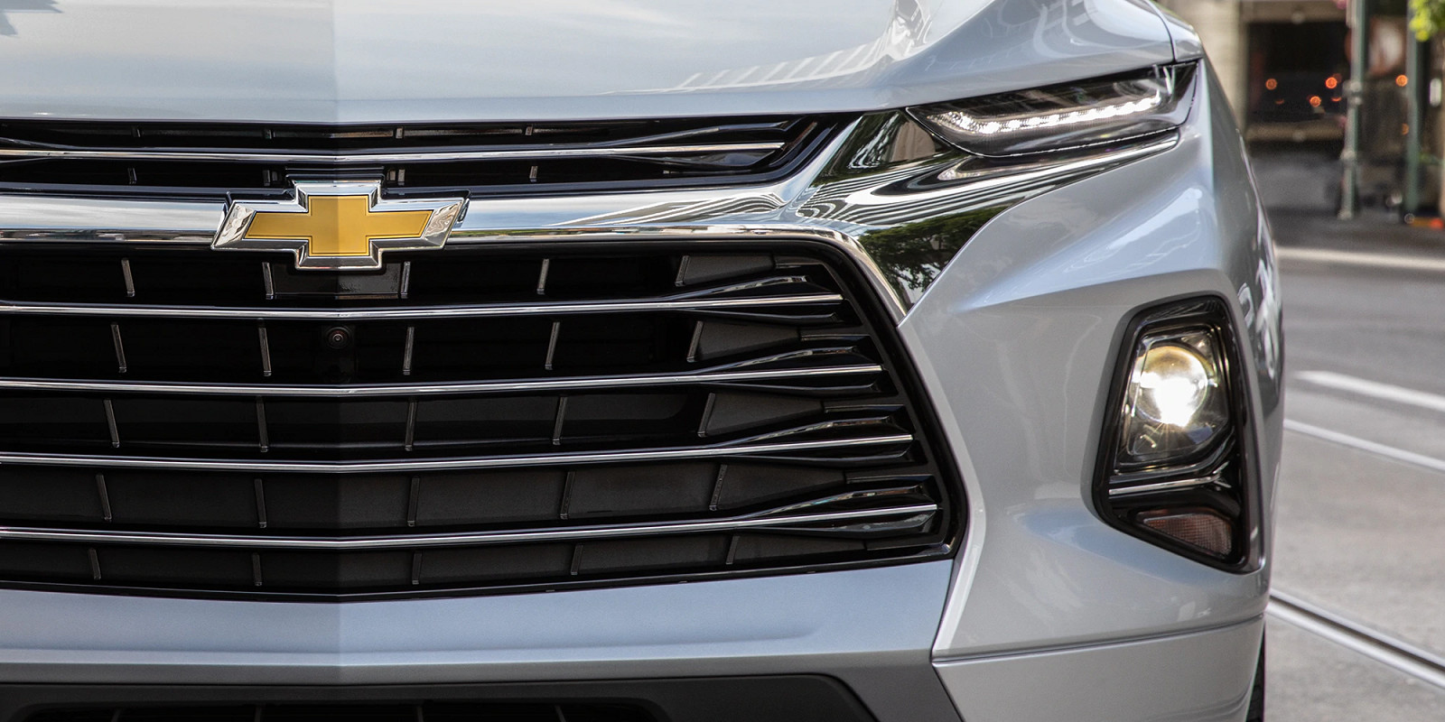 Front Grille of the 2020 Chevy Blazer