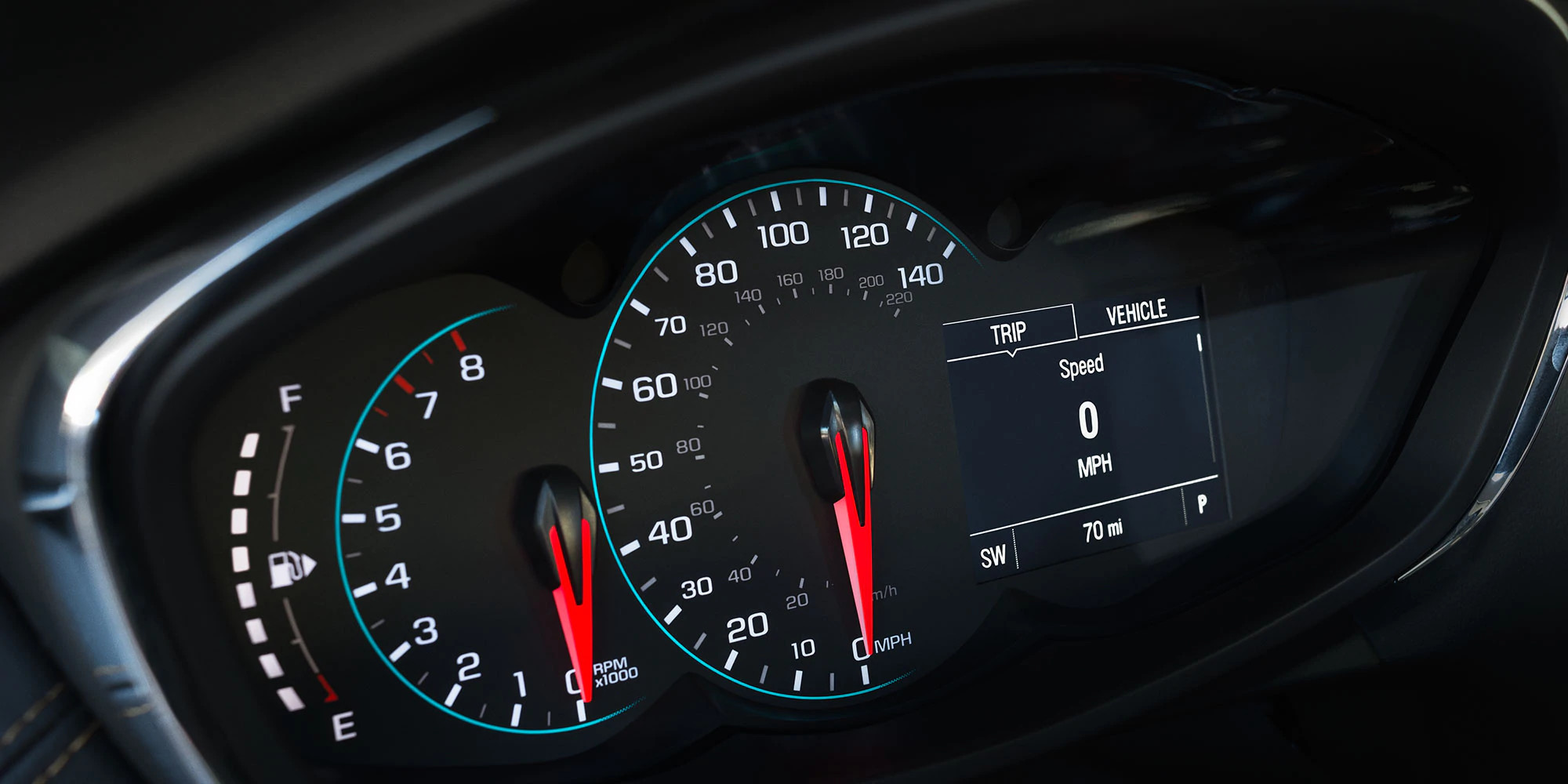 Instrument Panel in the 2020 Trax