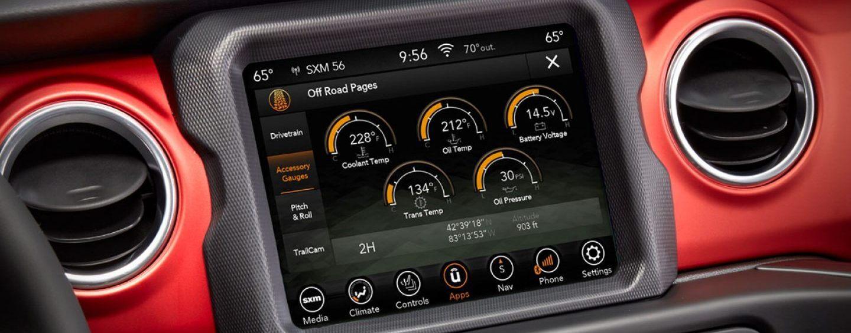 2020 Jeep Gladiator Technology