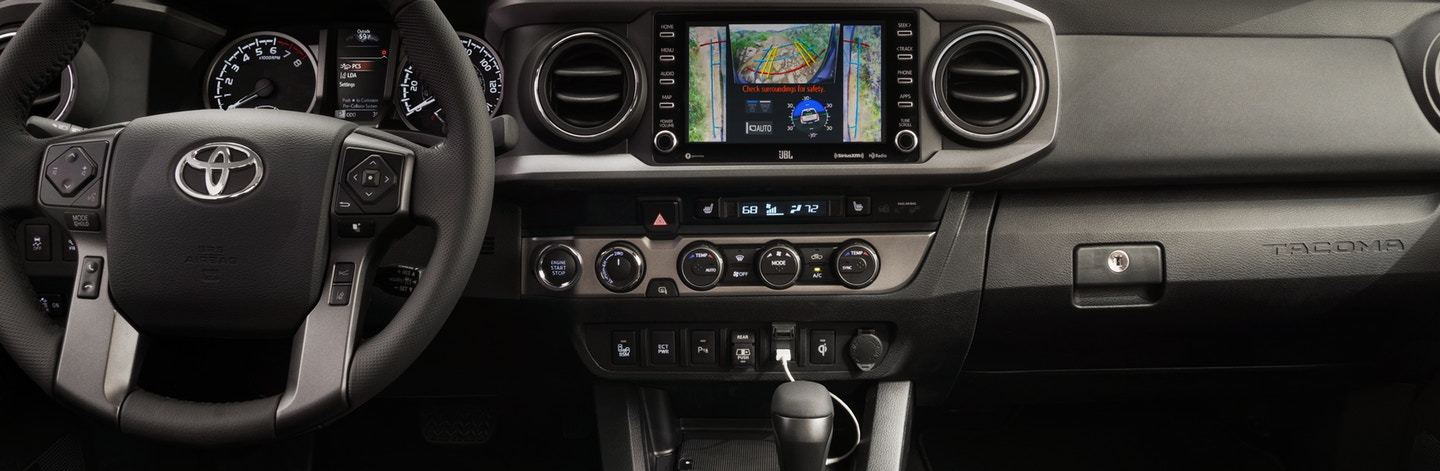 2020 Toyota Tacoma Front Dashboard