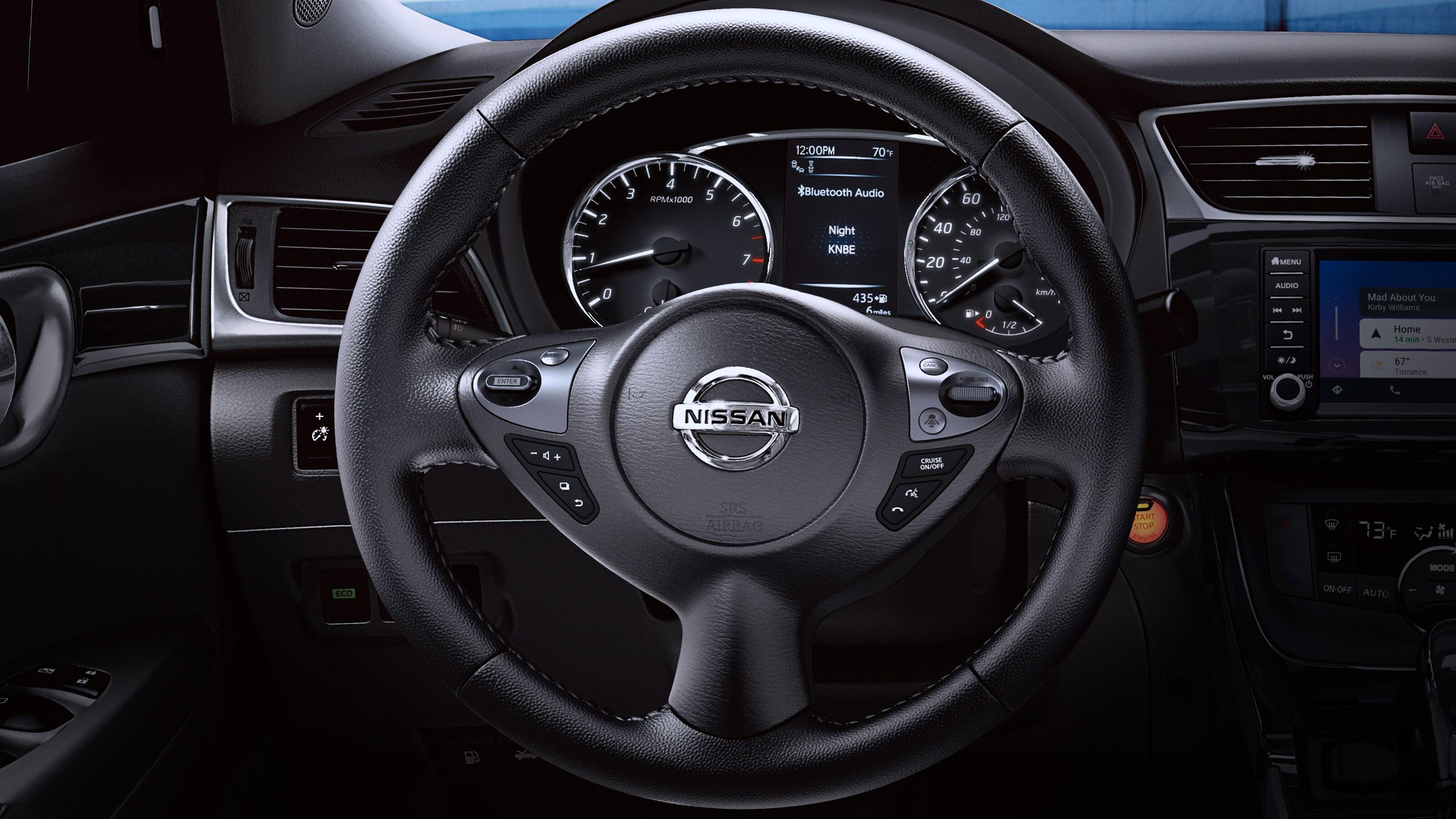 2019 Nissan Sentra Steering Wheel