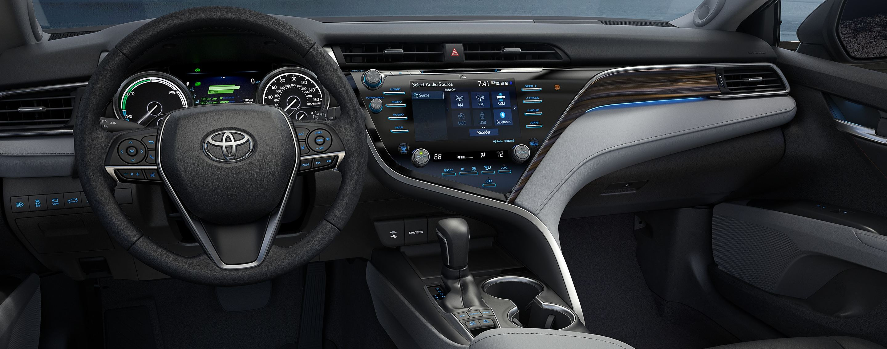 2020 Toyota Camry Dashboard with Technology