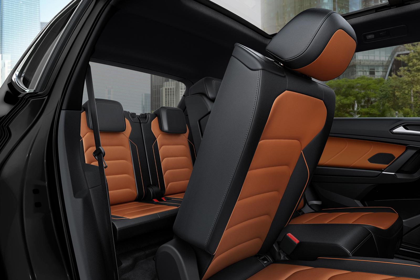 En la Tiguan 2020 hay modelos con una tercera hilera de asientos disponible.
