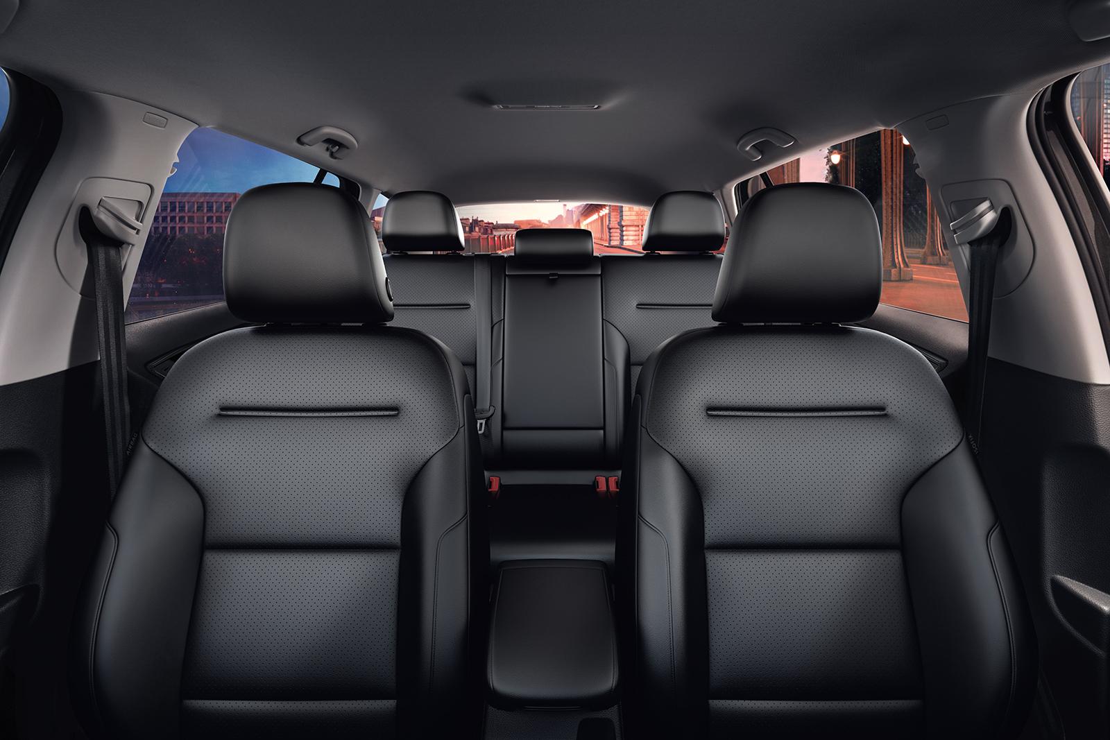 El interior de la VW Golf Alltrack está preparado para las mejores aventuras.