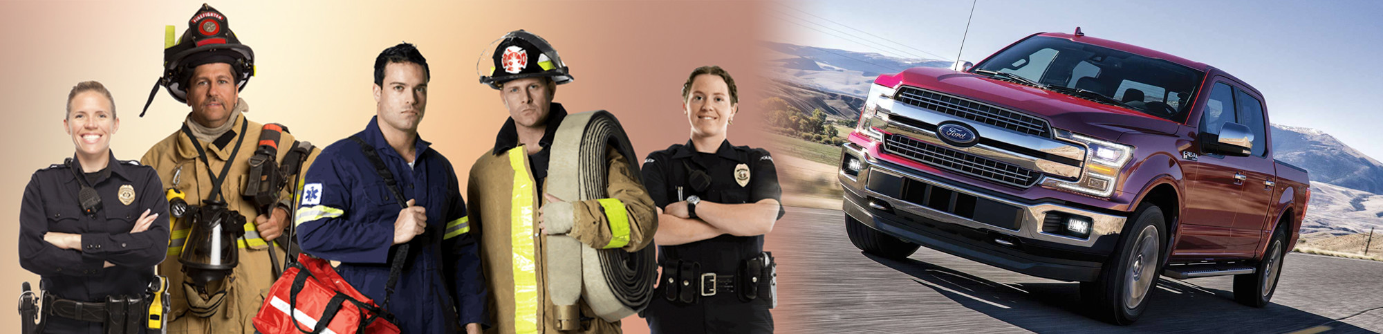 Boulevard Ford of Lewes First Responder Discount