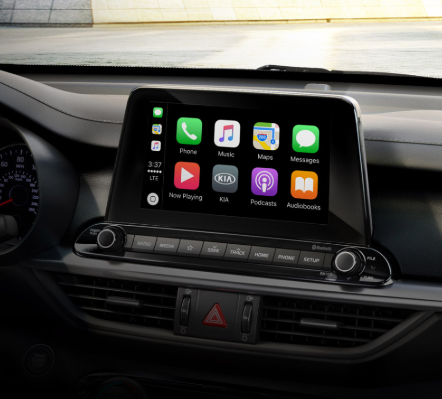 Apps at Your Fingertips in the 2020 Kia Forte