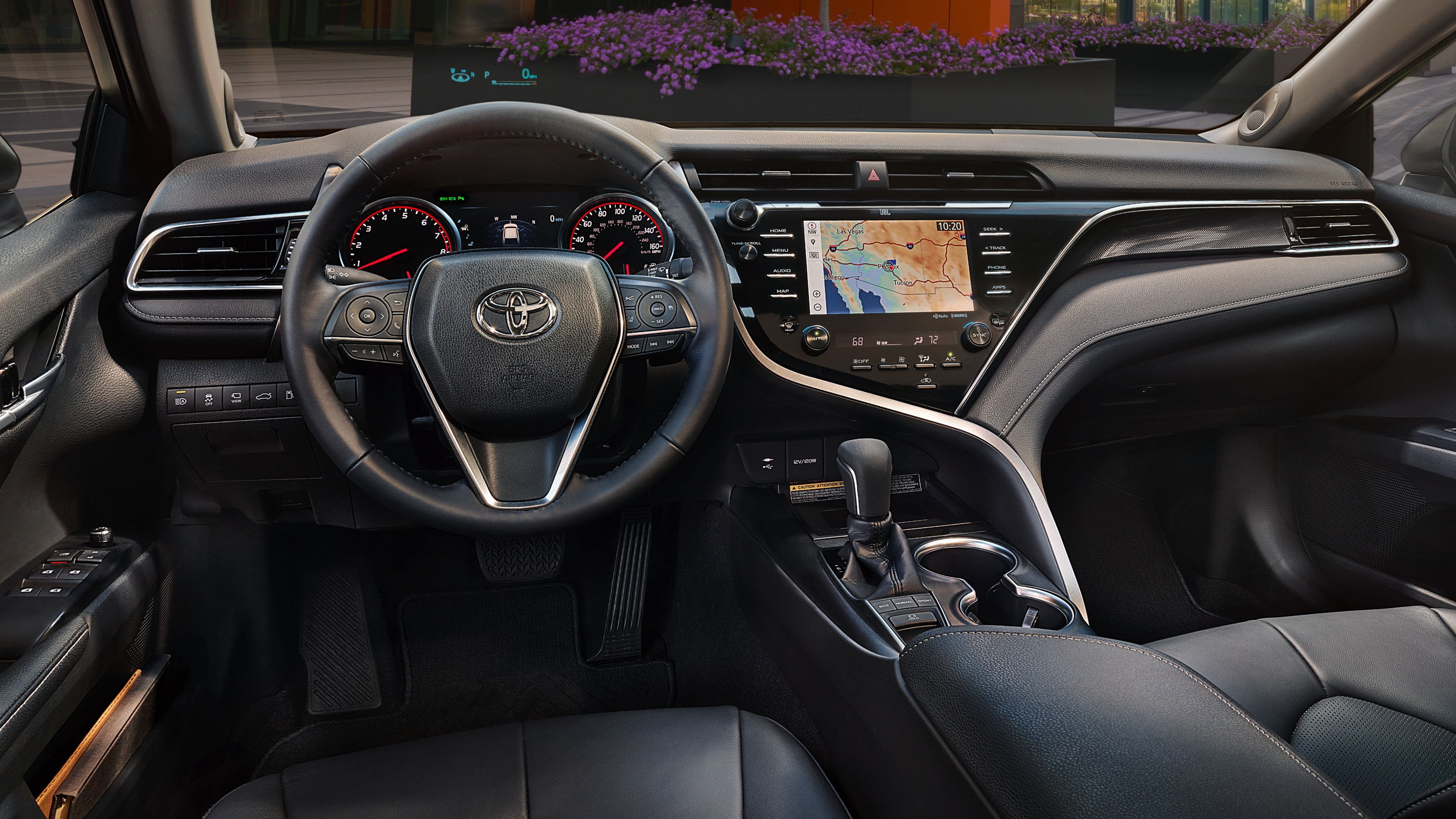 The Secure Cabin of the 2020 Toyota Camry