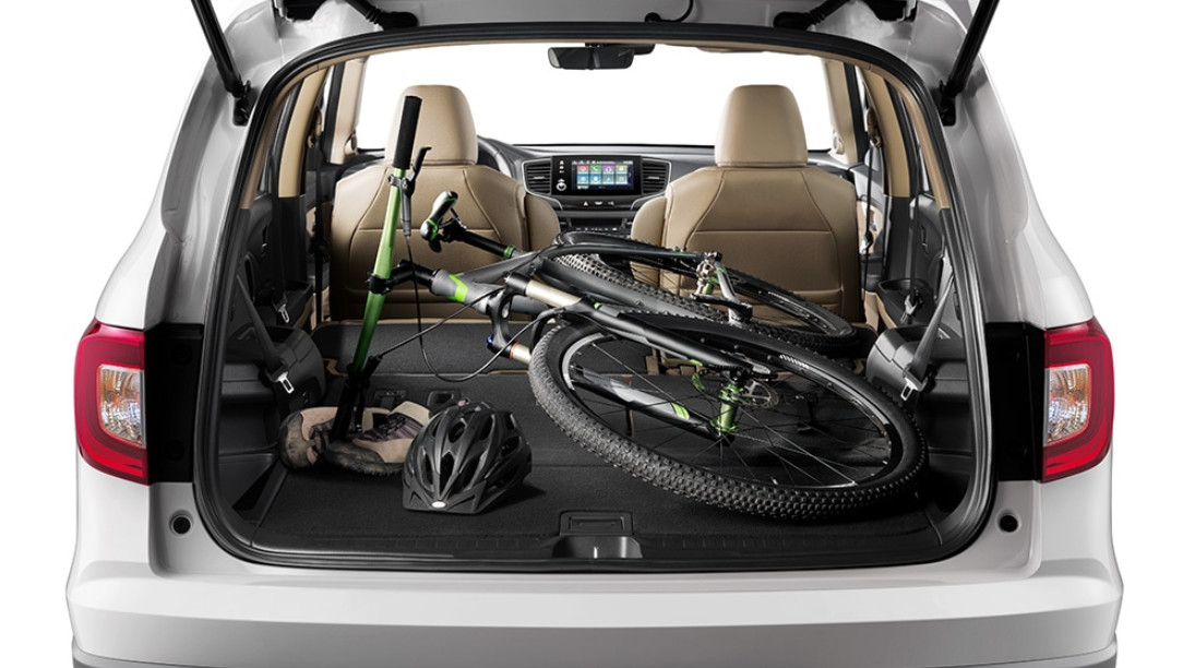 2020 Honda Pilot Trunk Space