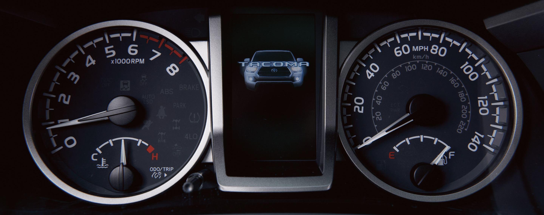 2020 Toyota Tacoma Information Display