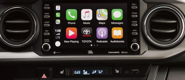 2020 Toyota Tacoma Touchscreen