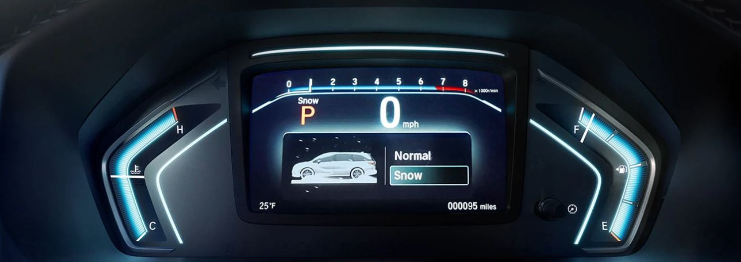 Driver Information Interface in the 2020 Odyssey