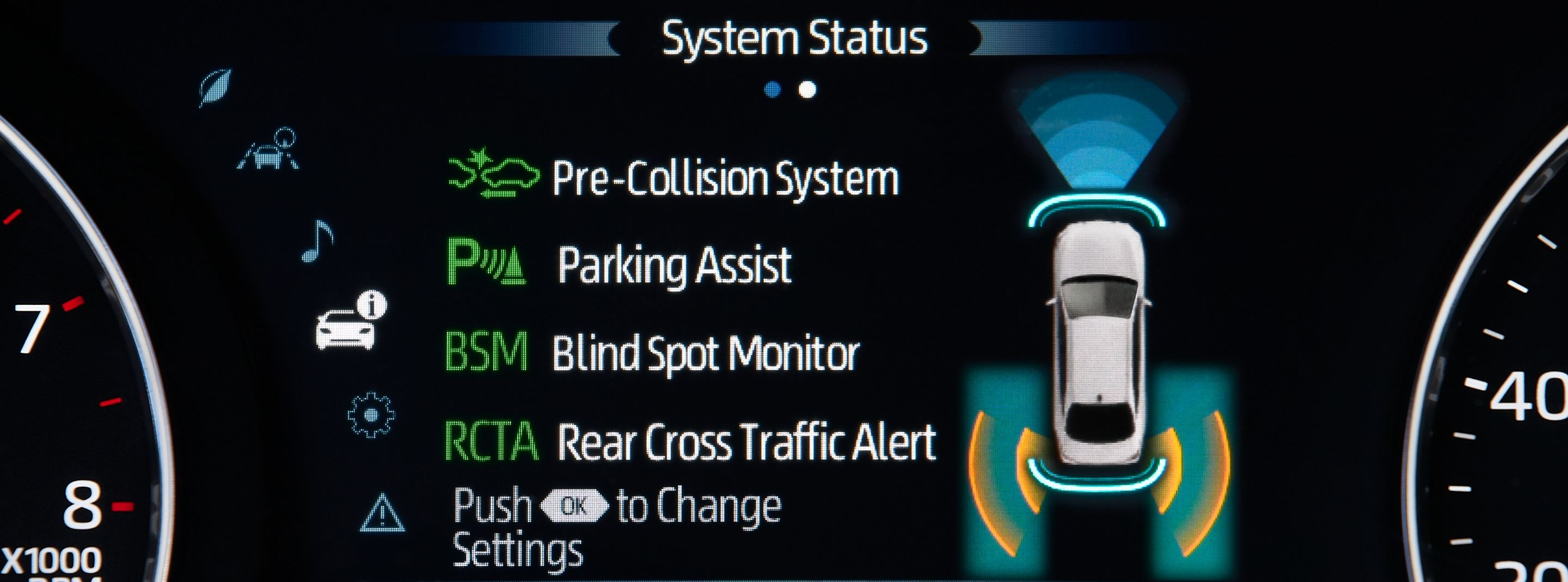 2020 Toyota Avalon Multi-Information Display