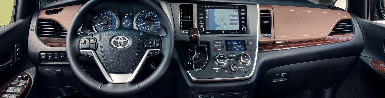 2020 Toyota Sienna Dashboard