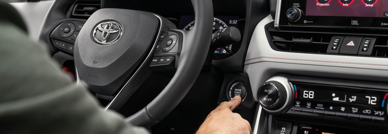 2020 Toyota RAV4 Push Button Start