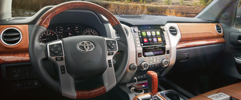 2020 Toyota Tundra Dashboard