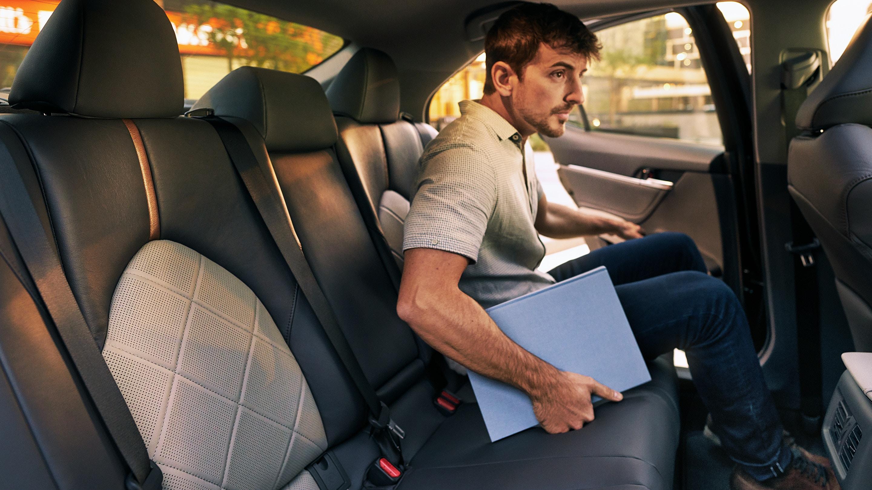 2020 Toyota Camry Backseat