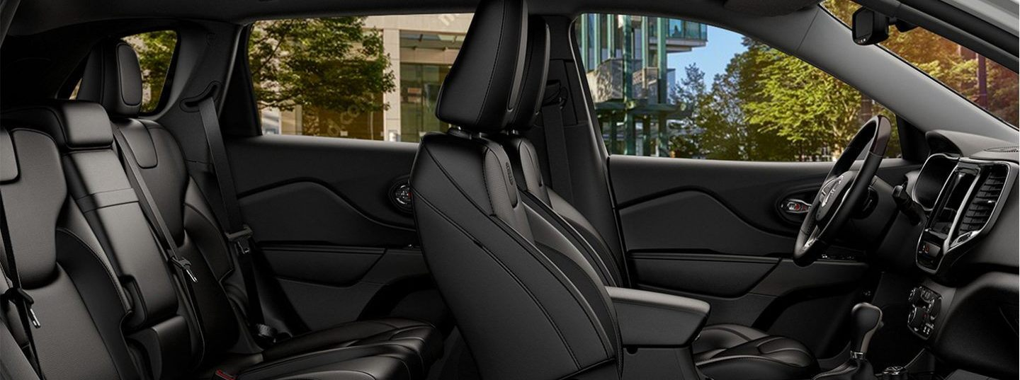 Spacious Seating in the 2020 Cherokee