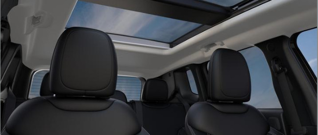 Sunroof in the 2020 Jeep Renegade