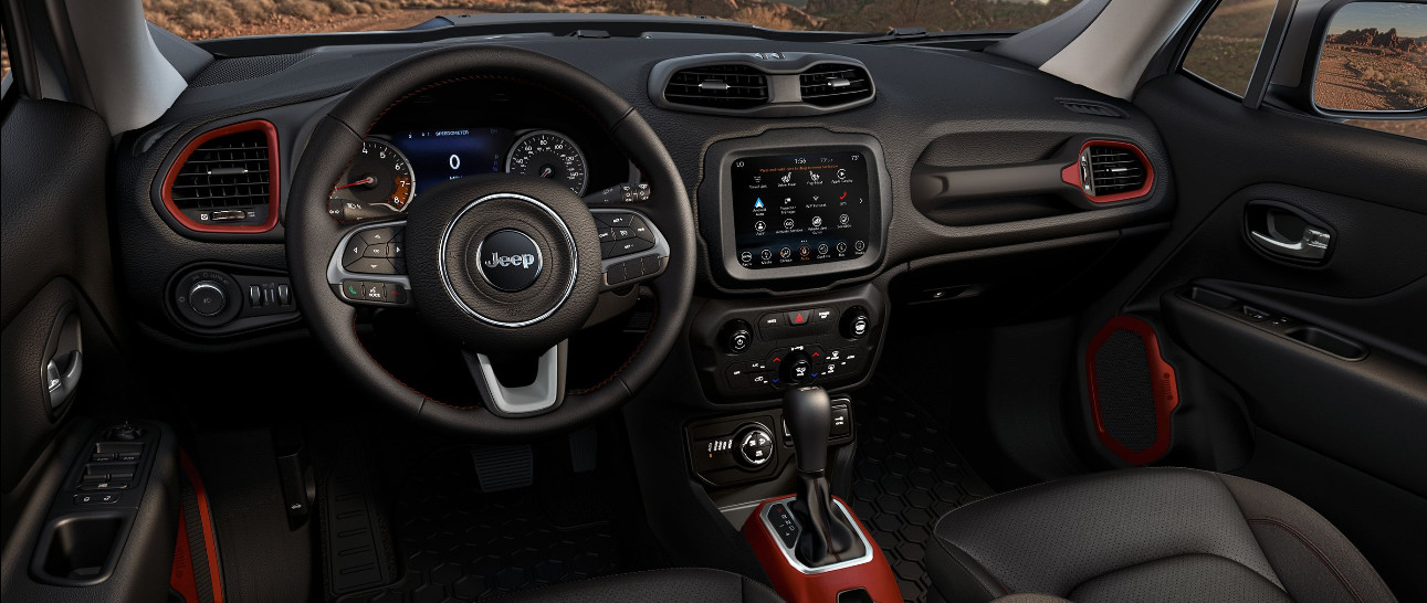 Technology in the 2020 Renegade