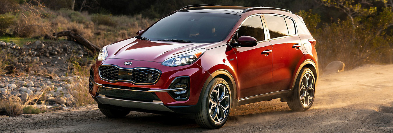 2020 Kia Sportage Trim Levels near Tampa, FL