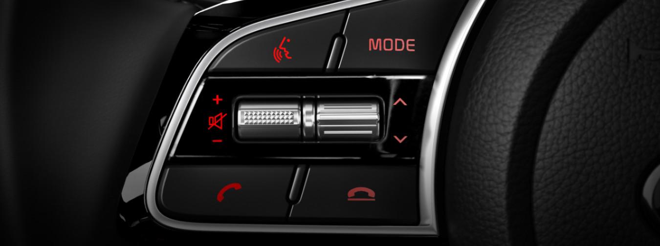 2020 Kia Forte Steering-Wheel-Mounted Controls