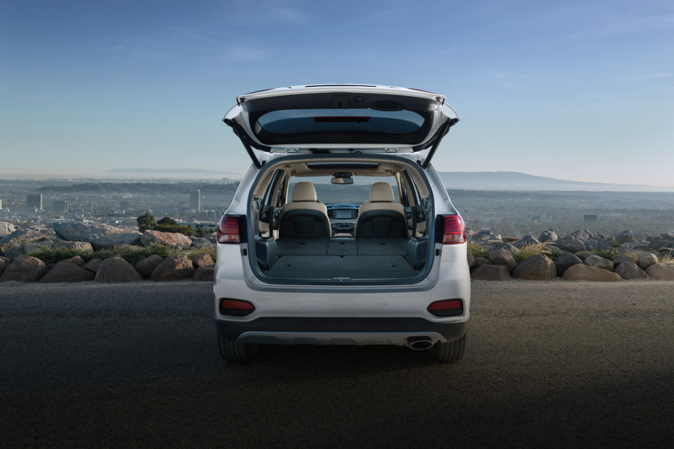 Cargo Room in the 2020 Sorento