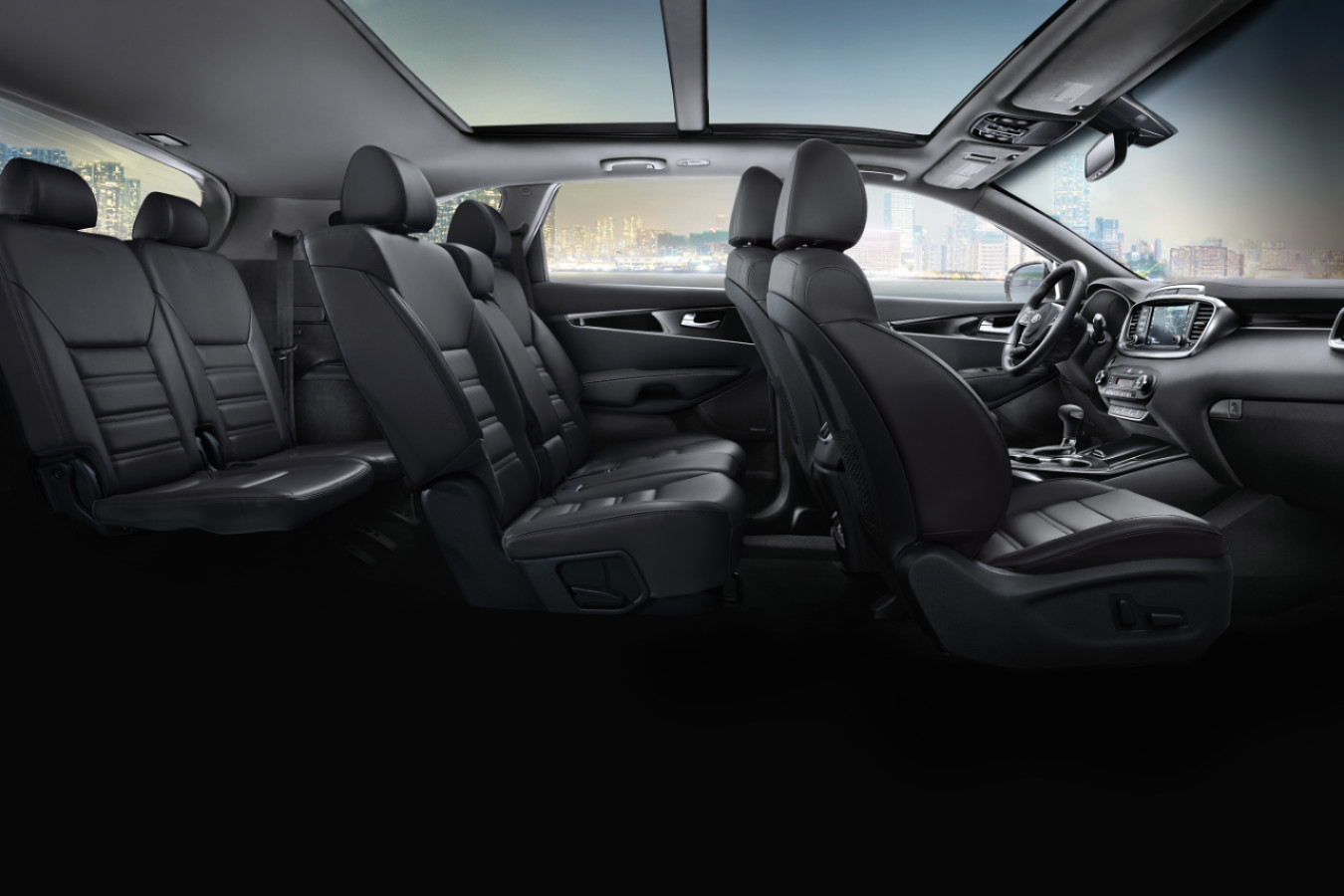 Seats in the 2020 Sorento