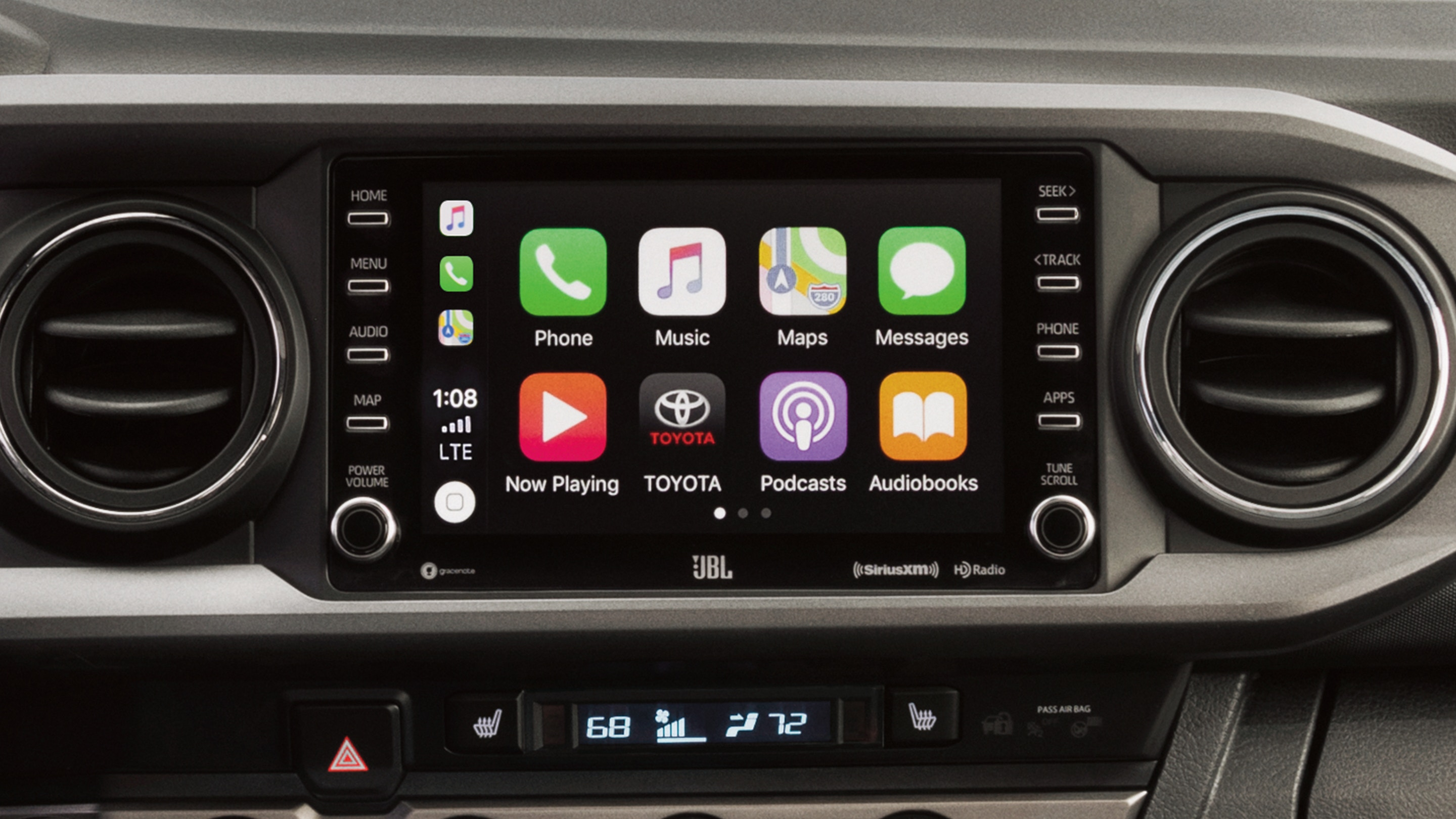 Standard Apple CarPlay® in the 2020 Toyota Tacoma