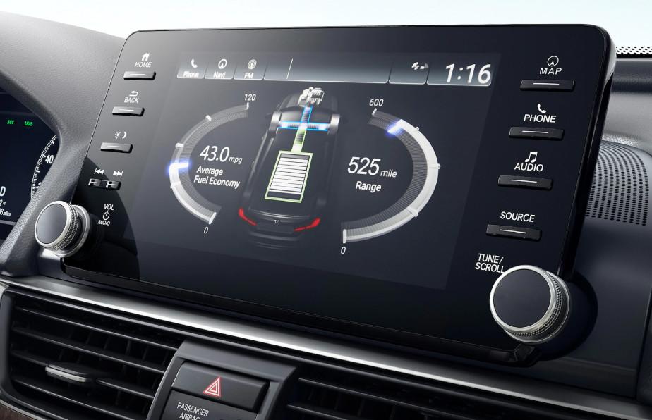 Accord Hybrid Display