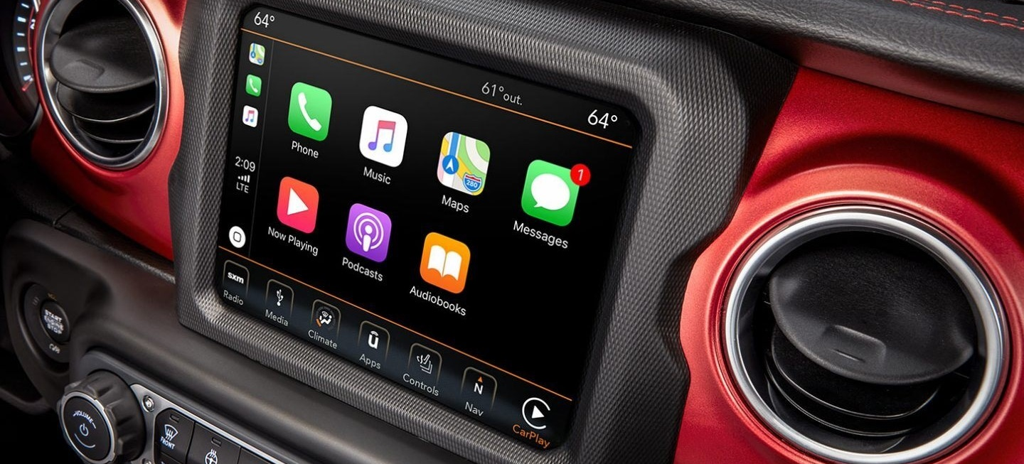 2020 Jeep Wrangler Unlimited Touchscreen Display