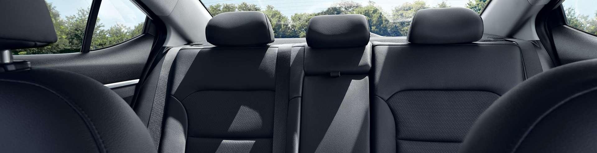 2020 Elantra Rear Seats