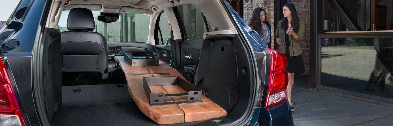 2020 Chevrolet Trax Storage Area