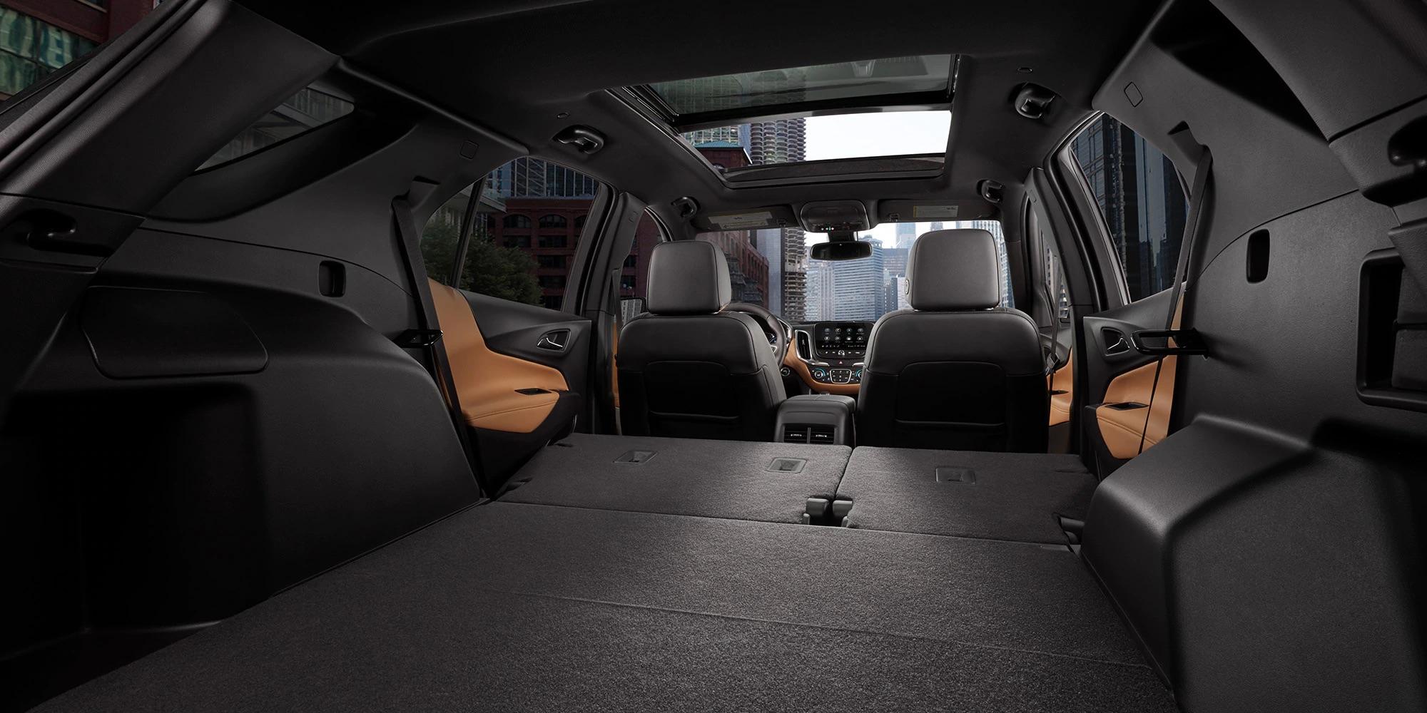 El interior de la Chevy Equinox 2020