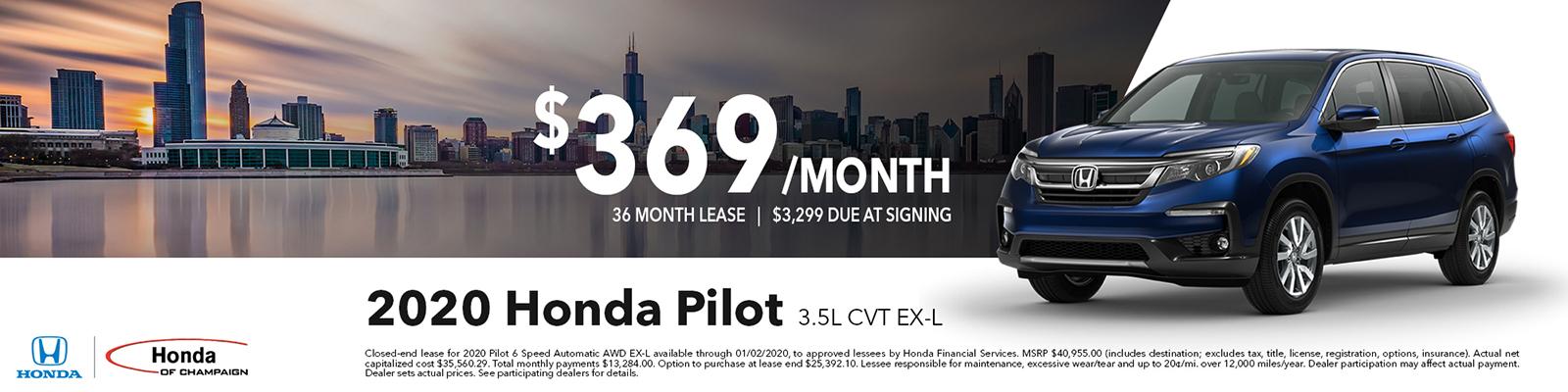 Honda Pilot Special