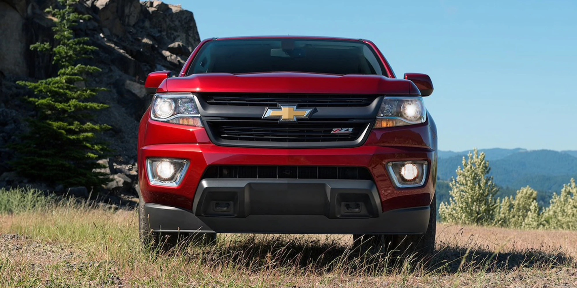 Exterior de la Chevy Colorado 2020
