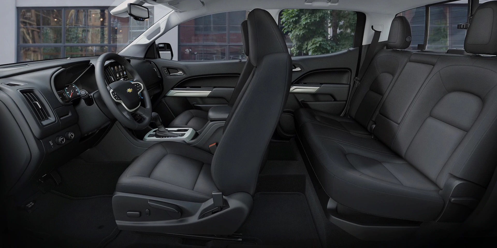 Interior de la Chevy Colorado 2020