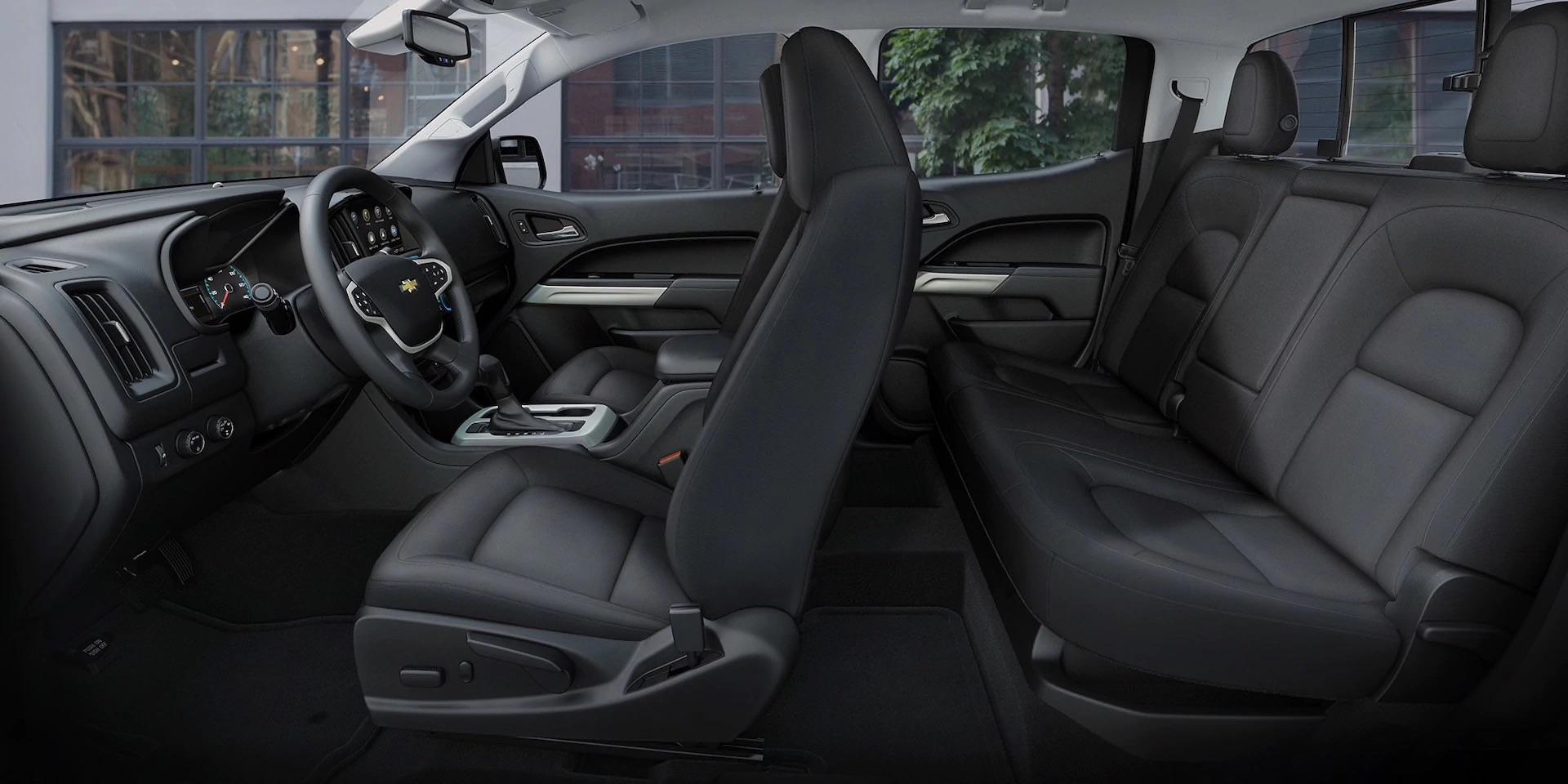 El interior de la Chevrolet Silverado 1500 2020