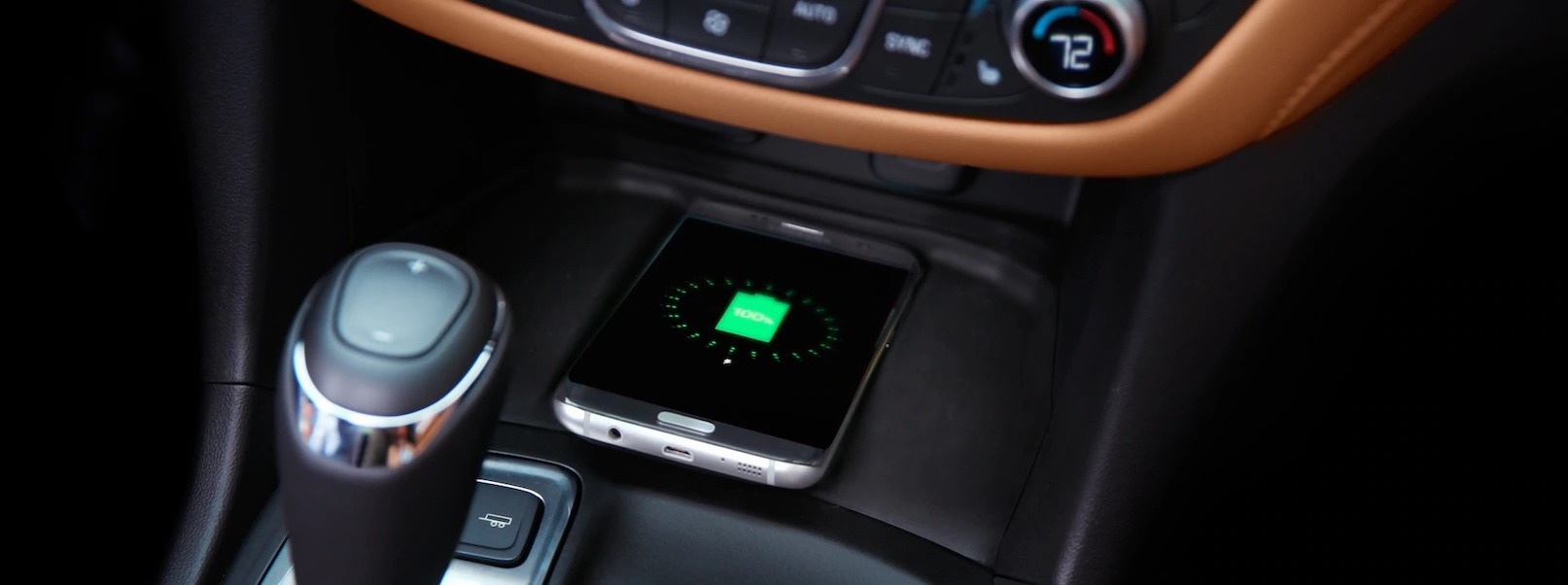 Wireless Charger in the 2020 Equinox