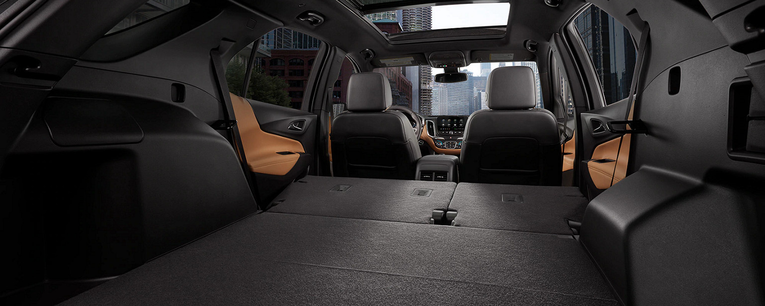 Ample Storage in the 2020 Chevy Equinox