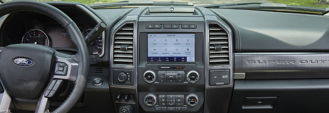 2020 Ford F-250 SuperDuty Front Console