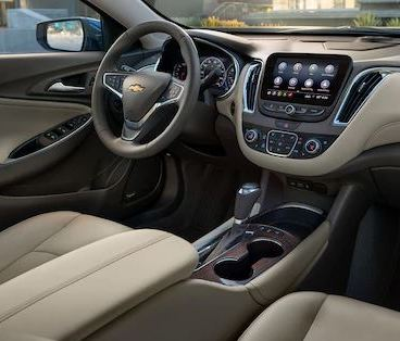 Driver's Seat of the 2020 Chevrolet Malibu