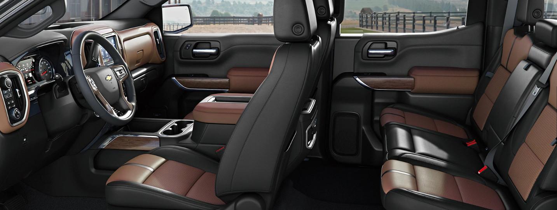 Accommodating Cabin of the 2020 Chevrolet Silverado 1500