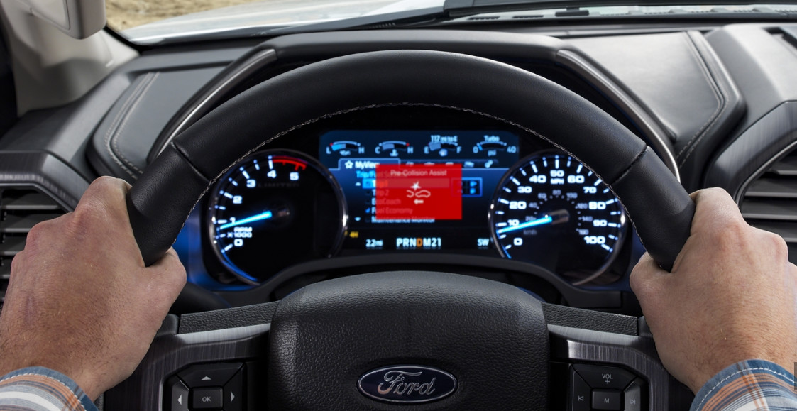 2020 Ford F-350 SuperDuty Driver Console