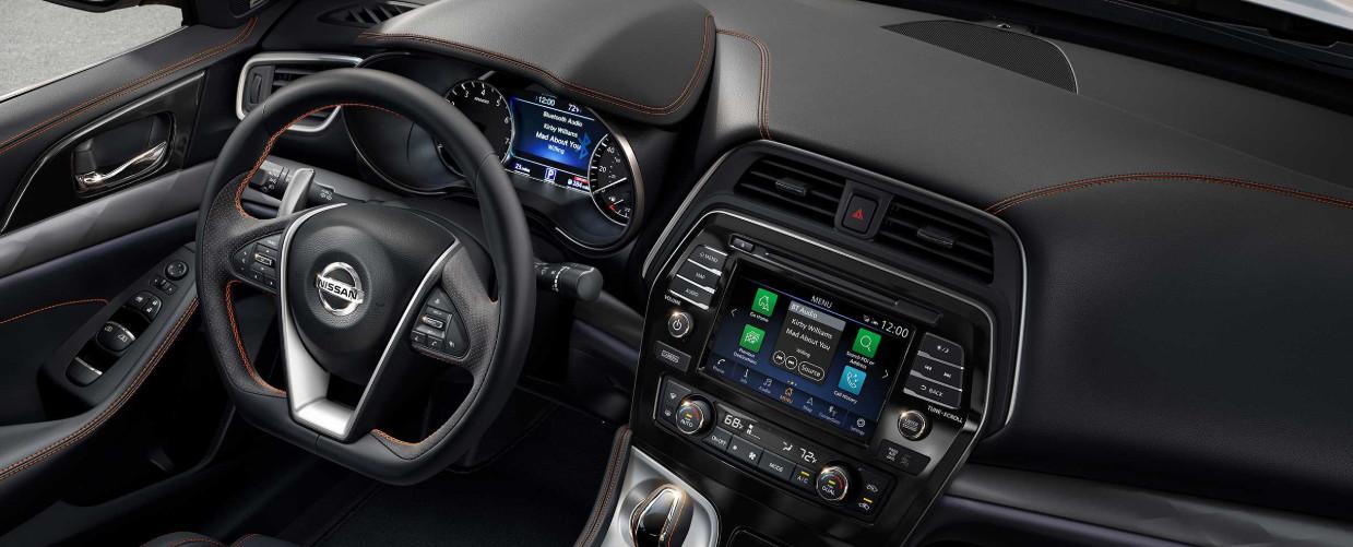 2020 Nissan Maxima Center Console