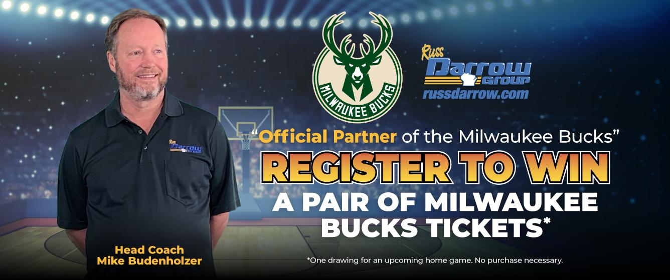 Register to Win a Pair of Milwaukee Bucks Tickets