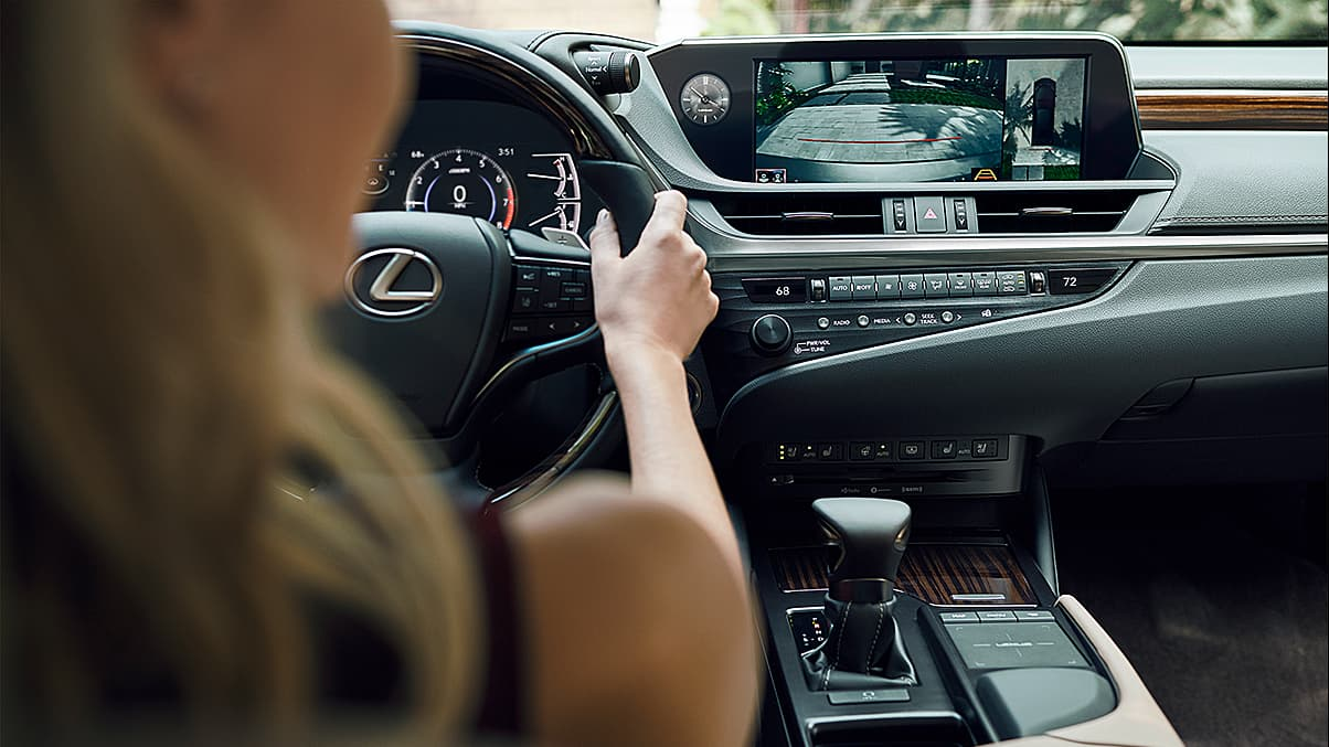 Secure Cabin of the 2020 ES 350