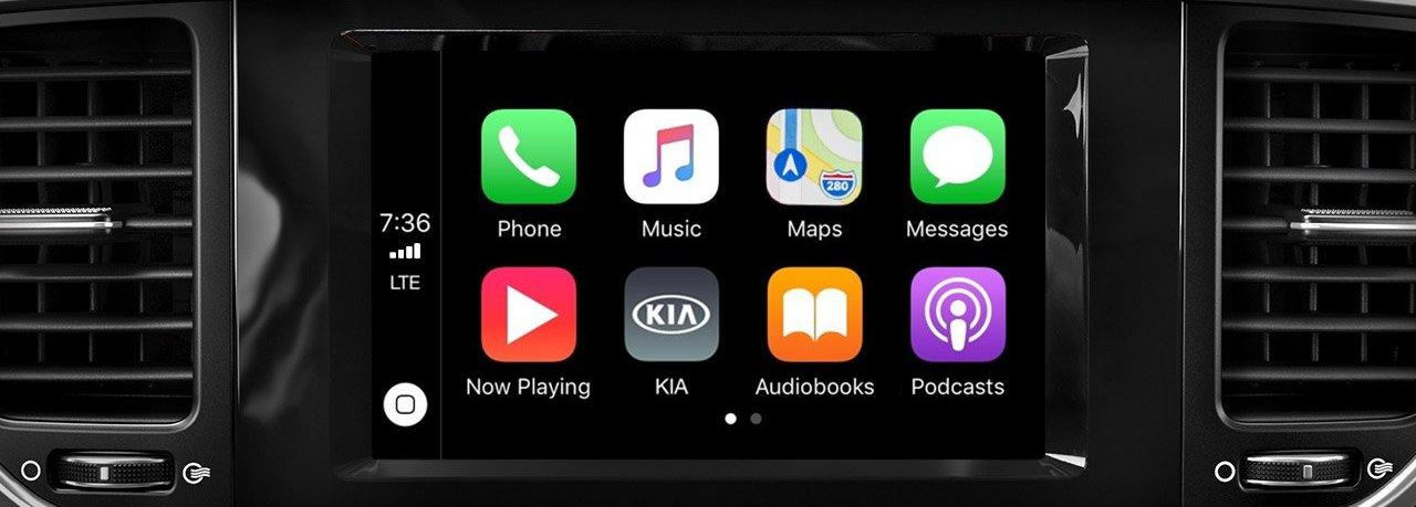 2020 Kia Sportage Touchscreen